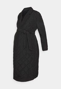 ONLY - OLMTRILLION LONG COATIGAN - Classic coat - black - 4