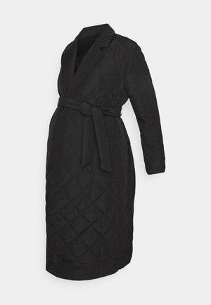 OLMTRILLION LONG COATIGAN - Classic coat - black
