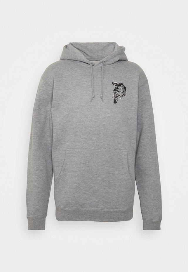 DIRTY PAISLEY HOOD - Sweatshirt - heather grey
