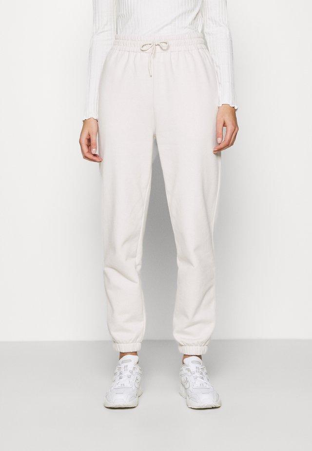 CARMEN  - Pantalon de survêtement - eggnog