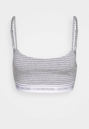 ONE PRIDE CAPSULE UNLINED BRALETTE - Topp - white/grey