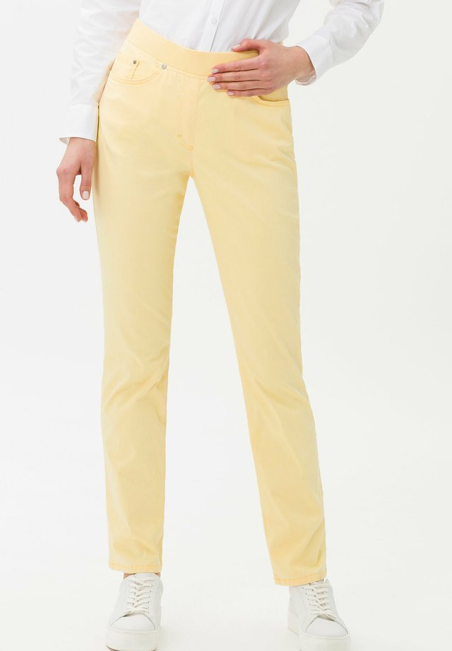 Jeggings - yellow