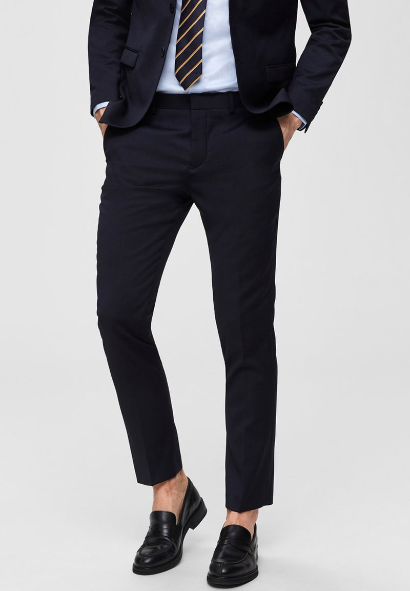 Selected Homme - Suit trousers - navy
