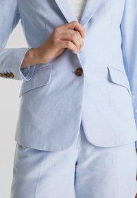 Esprit - CHAMBRAY - Blazer - light blue - 3