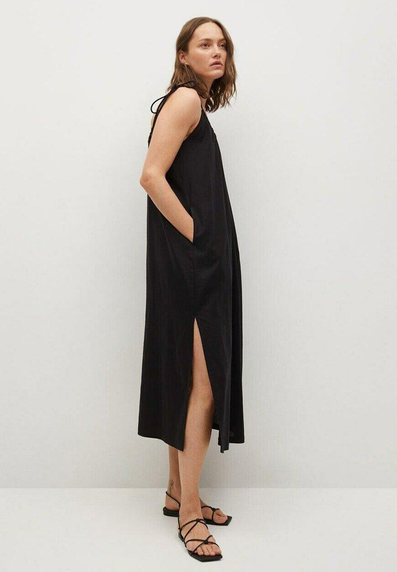 Mango - Denní šaty - zwart