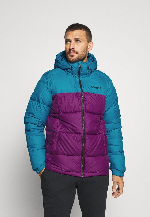 PIKE LAKE HOODED JACKET - Giacca invernale - plum/fjord blue