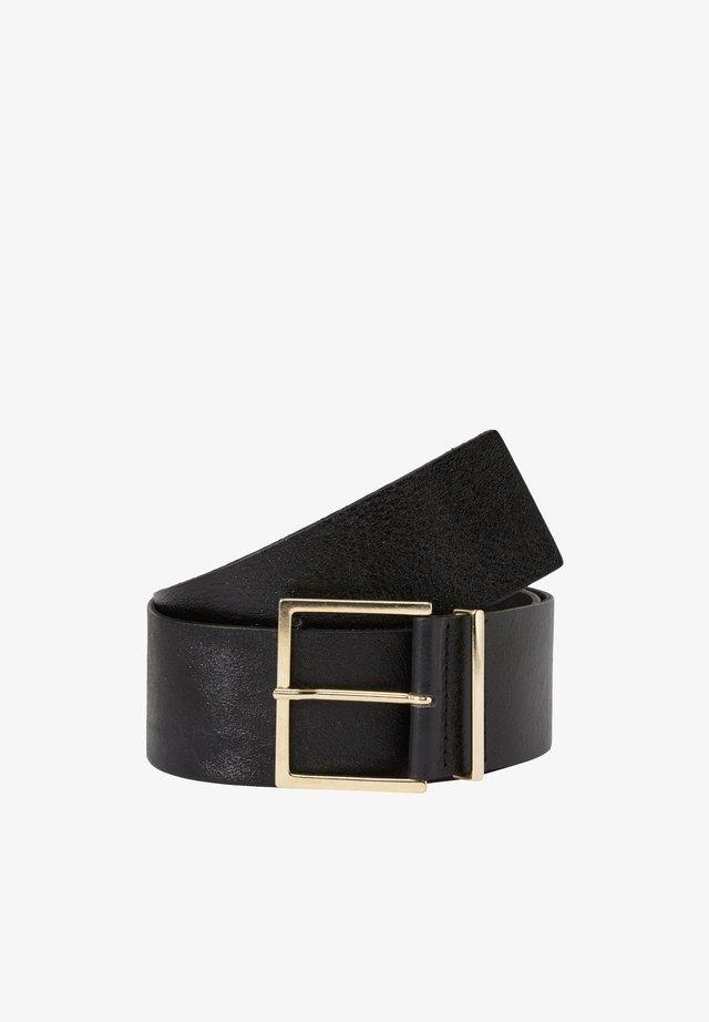 Belt - true black