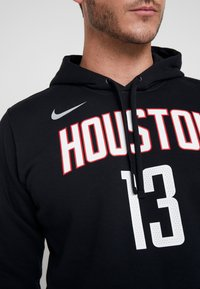 Nike Performance - NBA HOUSTON ROCKETS JAMES HARDEN NAME&NUMBER HOODIE - Kapuzenpullover - black - 6