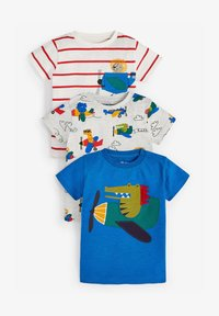 Next - 3 PACK - Print T-shirt - multi coloured - 0