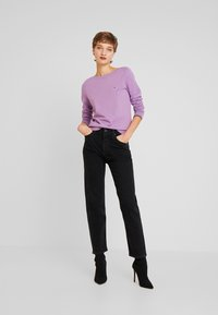 Tommy Hilfiger - BOAT NECK  - Sweter - dusty lilac - 1