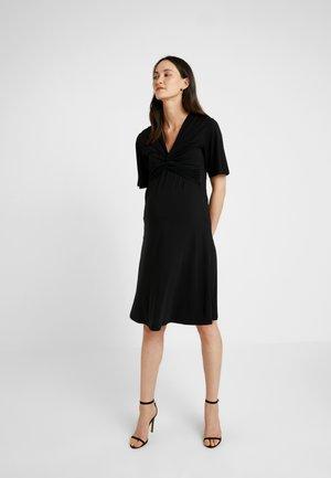 LA LA DRESS - Žerzejové šaty - black
