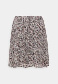 Moss Copenhagen - ENNIS RIKKLIE SKIRT - Mini skirt - aqua gray - 1