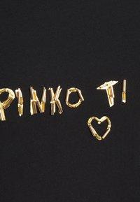 Pinko - ARNOLD  - Triko spotiskem - black - 2