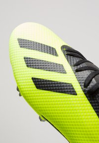 adidas Performance - X 18.3 FG - Moulded stud football boots - solar yellow/core black/footwear white - 5