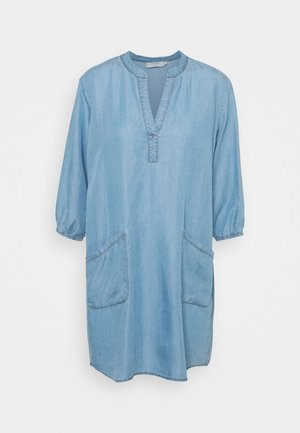 AMIRA POCKET TUNIC - Tunic - blue denim