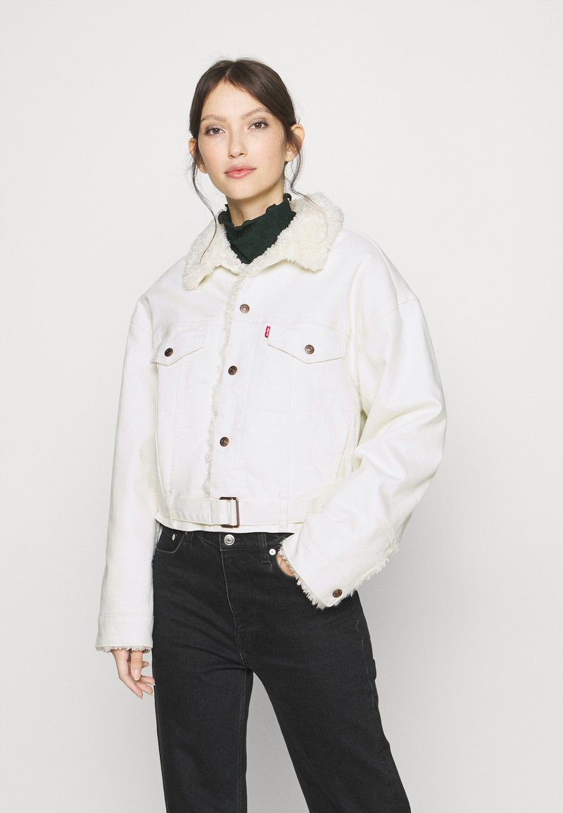 Levi's® - COZY COCOON TRUCKER - Denim jacket - cuddly tofu