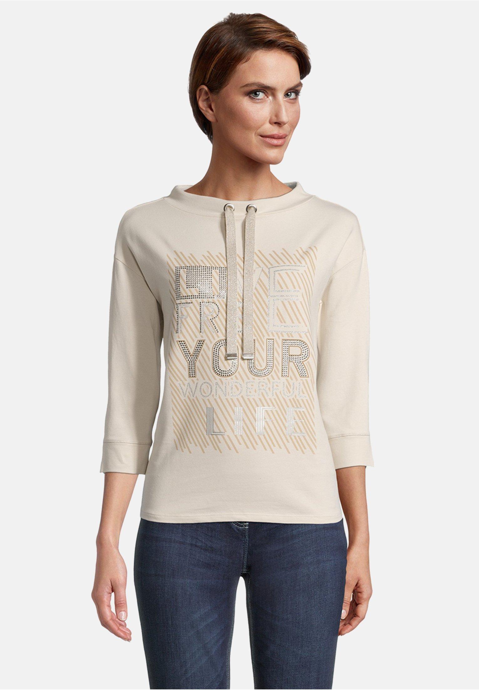 Damen MIT PLACEMENT - Sweatshirt