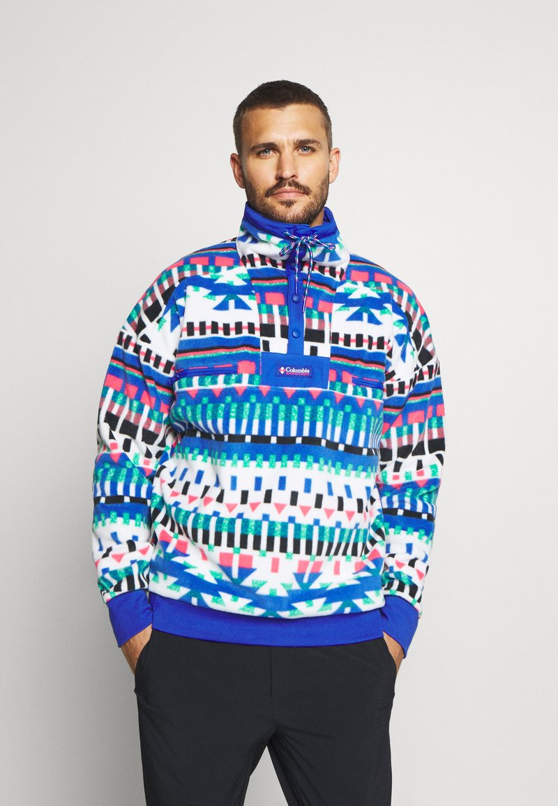 Columbia - POWDER - Sweat polaire - white/lapis blue