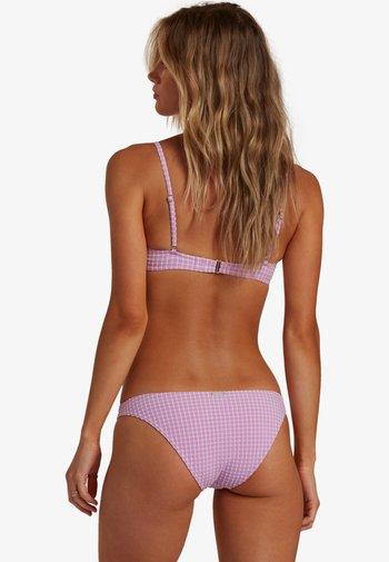 Bikini bottoms - lit up lilac