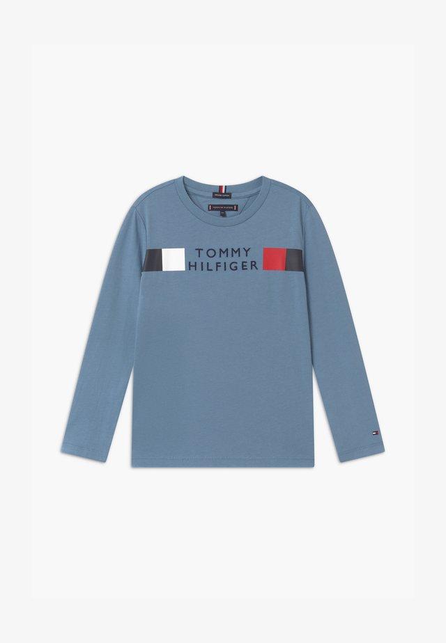 GLOBAL STRIPE TEE - Maglietta a manica lunga - blue