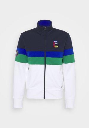 TECH JACKET - Zip-up sweatshirt - french navy/pure