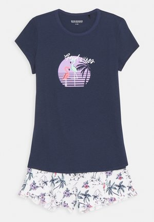 TEENS SCHLAFANZUG KURZ - Pyjama set - dunkelblau