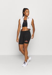 Nike Performance - FAST SHORT TRAIL - Leggings - black - 1