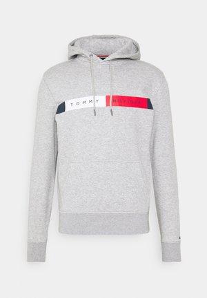 LOGO HOODY - Bluza z kapturem - grey