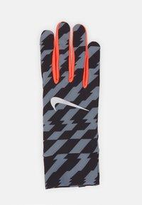 Nike Performance - LIGHTWEIGHT TECH GLOVES - Hansker - black/bright crimson/silver - 1