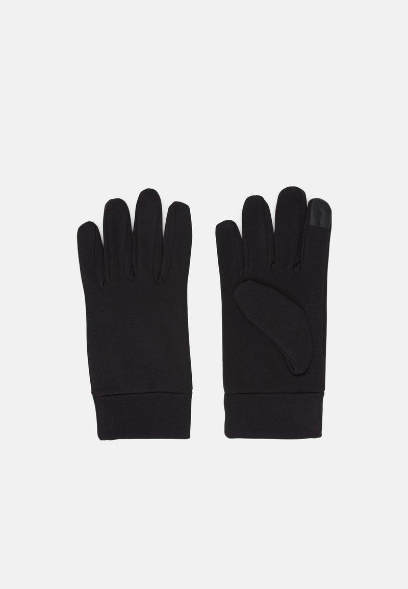 Pier One - RUNNING TRAINING TOUCH GLOVES - Gloves - black