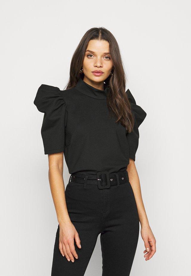 PCRYLEE - T-shirt basic - black