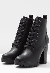 Even&Odd - High heeled ankle boots - black - 4