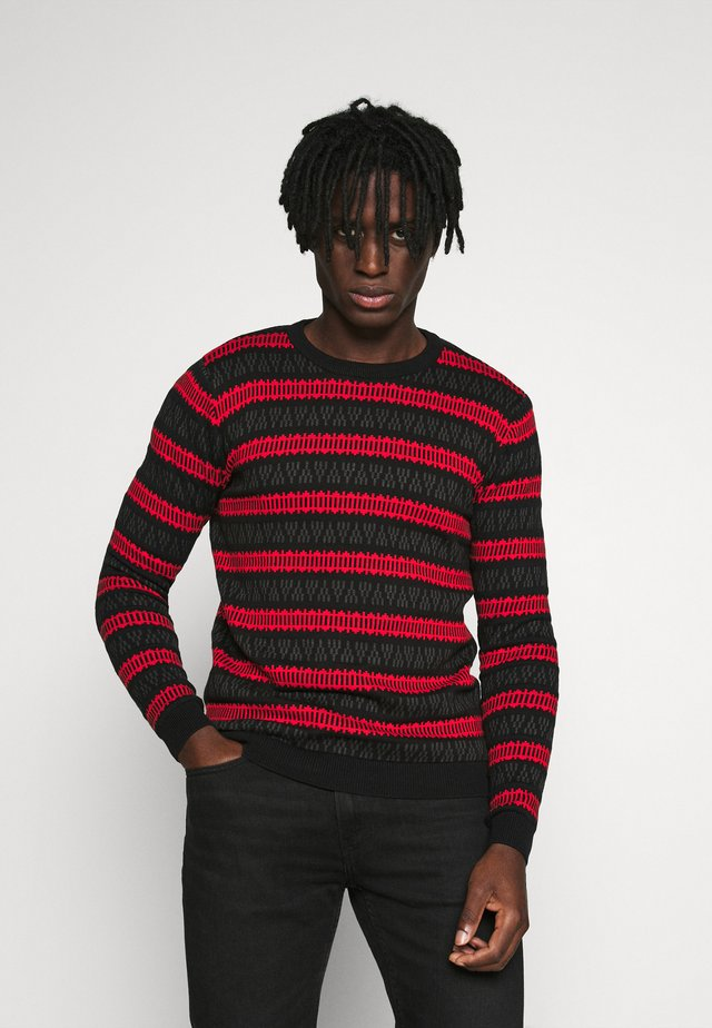 HARPER - Pullover - high risk red