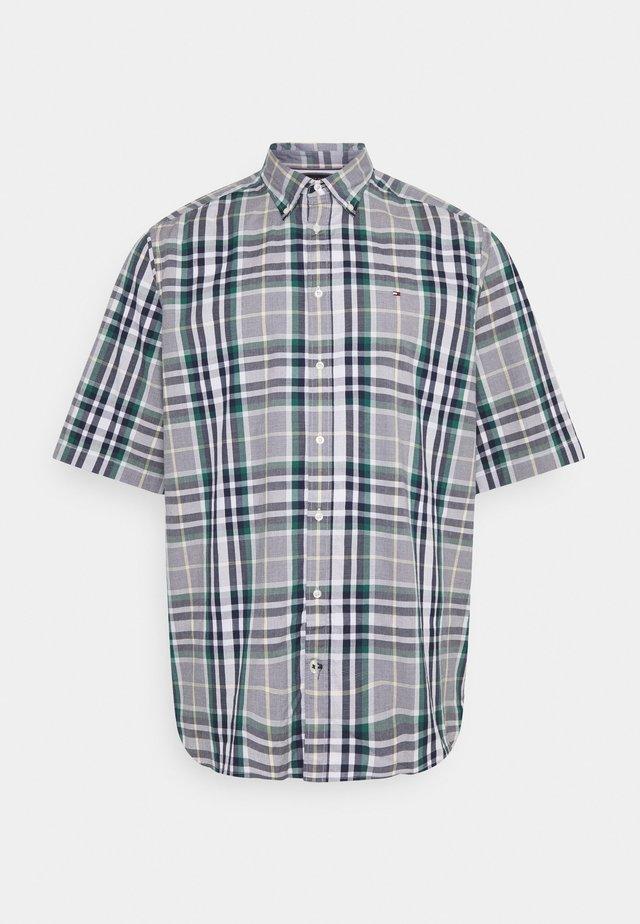 Košile - rural green / yale navy / multi