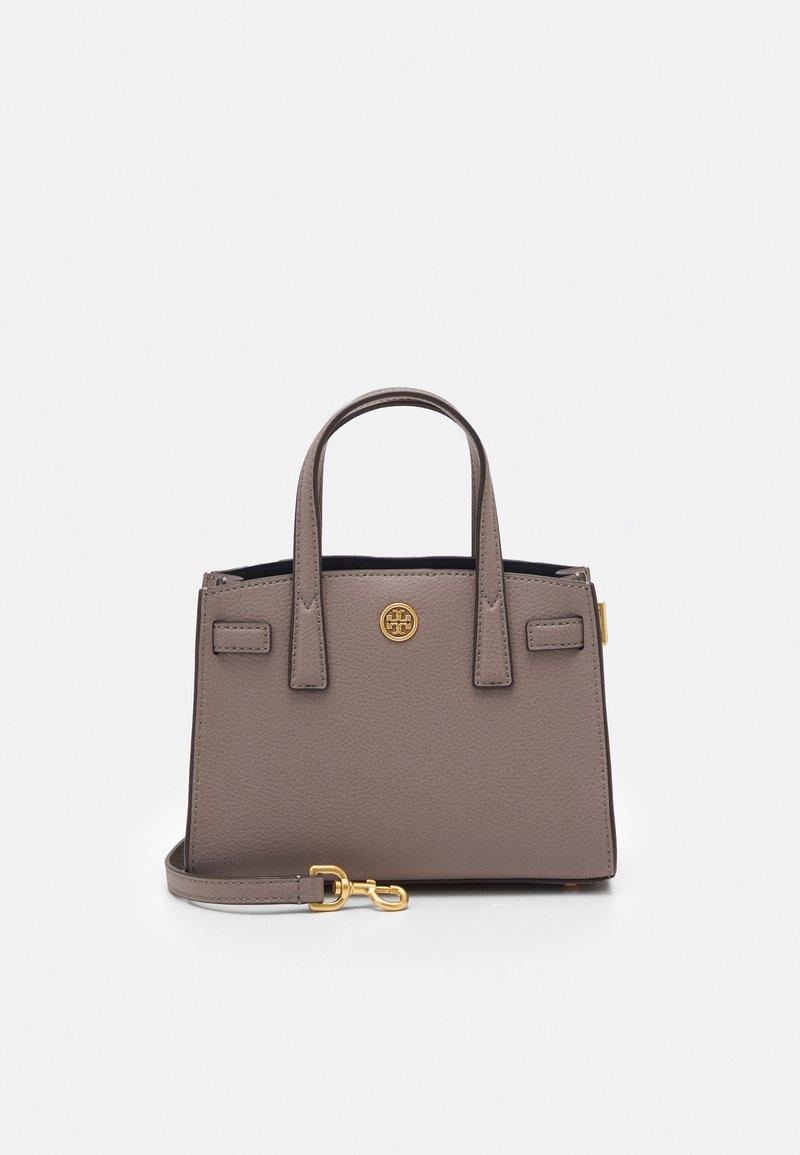 Tory Burch - WALKER MICRO SATCHEL - Handbag - gray heron