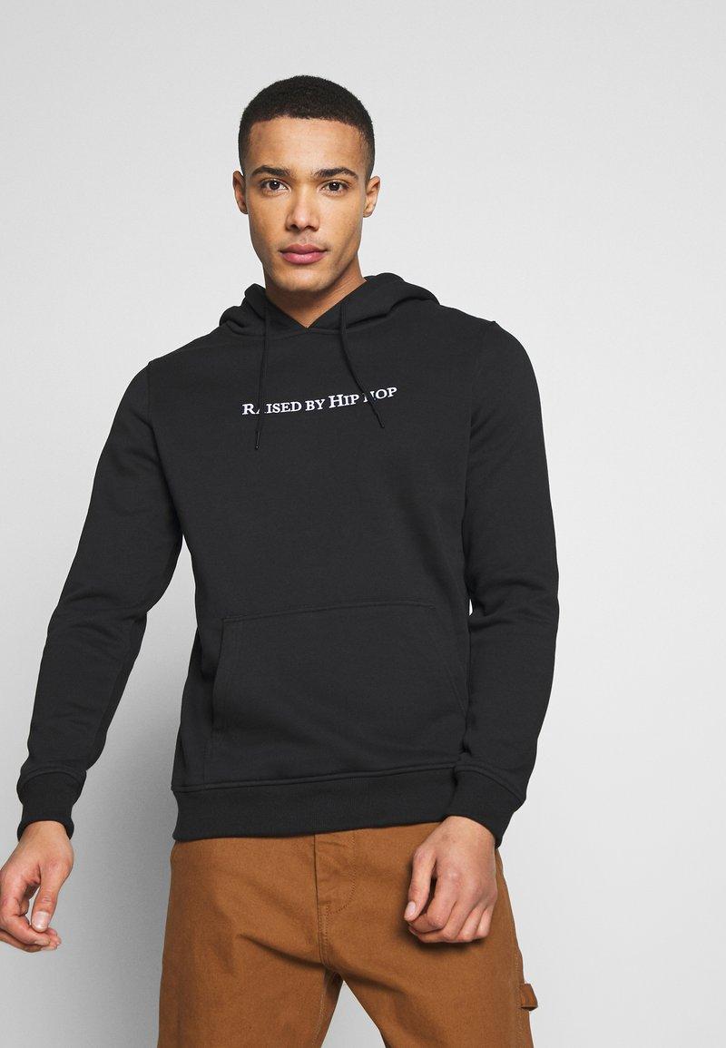 Mister Tee - HOODIE HIP HOP - Jersey con capucha - black