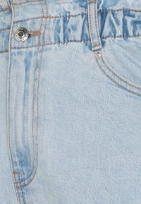 Gina Tricot - PAPERBAG - Jeans Shorts - pale blue - 5