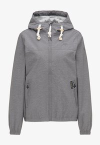 Schmuddelwedda - Outdoor jacket - grey melange - 4
