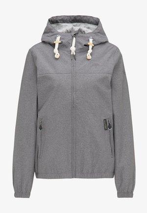 Outdoorjas - grey melange
