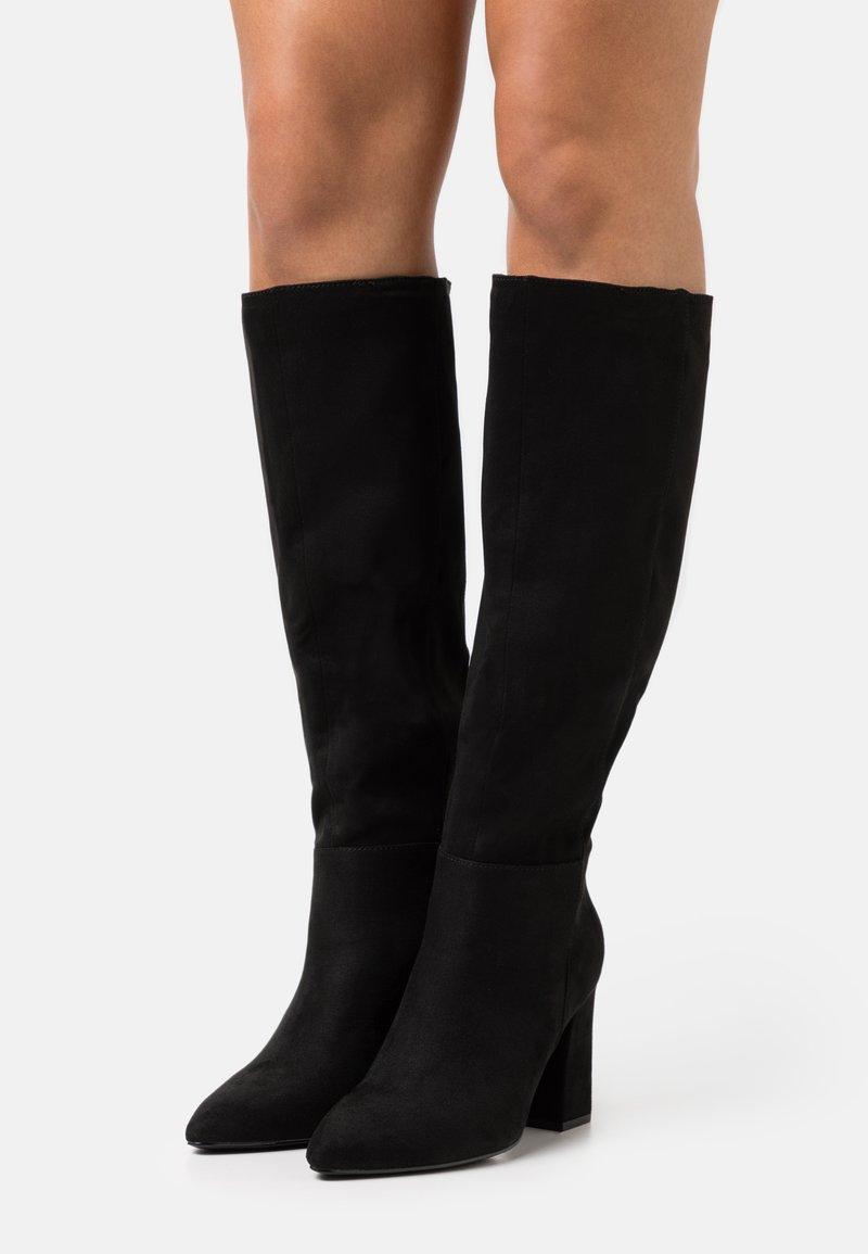 Madden Girl - FIREFLY - Laarzen met hoge hak - black