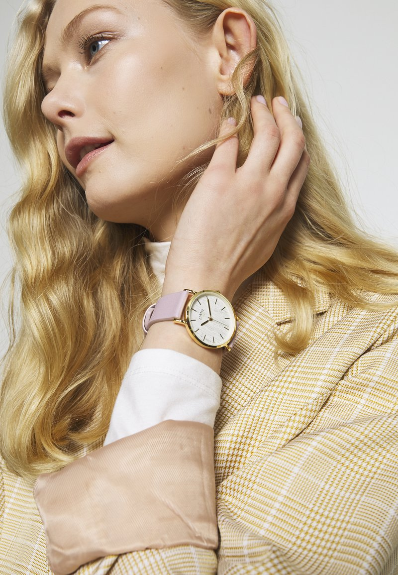 Limit - LADIES STRAP WATCH TEXTURED DIAL - Horloge - rose