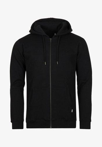 LIGULL HEAVY - Zip-up hoodie - black