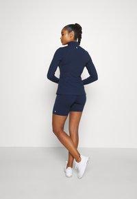 Sweaty Betty - POWER WORKOUT ZIP THROUGH JACKET - Training jacket - navy blue - 2