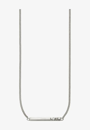 LOVE  - Necklace - silver-coloured
