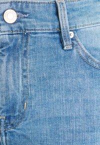 s.Oliver - Denim shorts - middle blu - 2