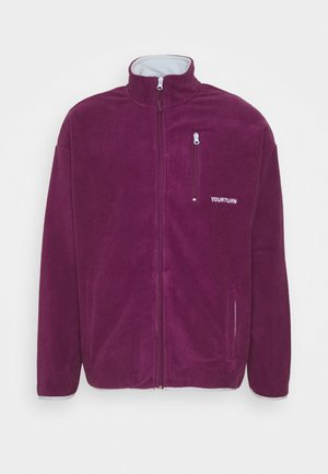 UNISEX - Fleece jacket - purple