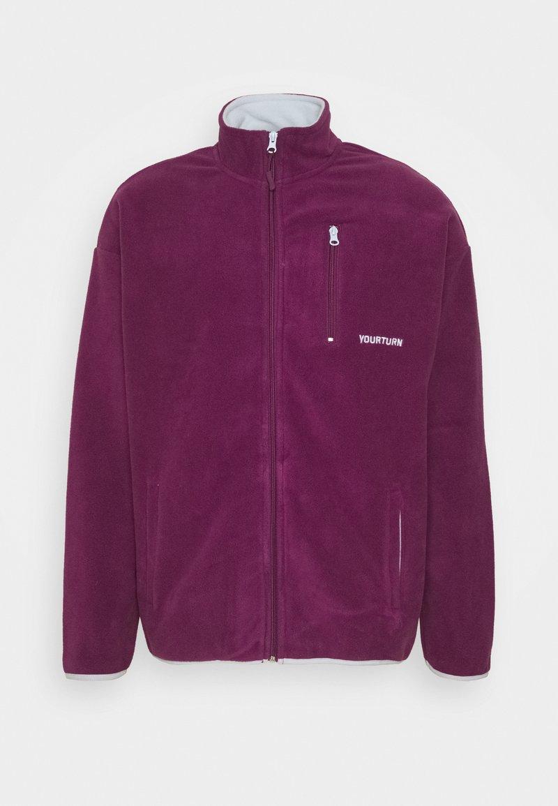 YOURTURN - UNISEX - Fleecová bunda - purple
