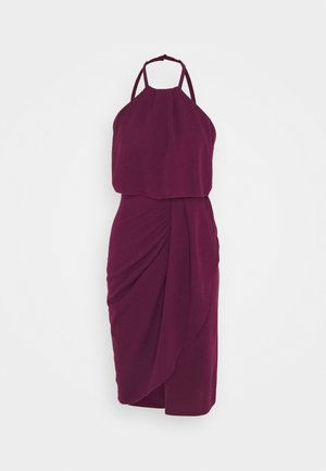 Day dress - plum