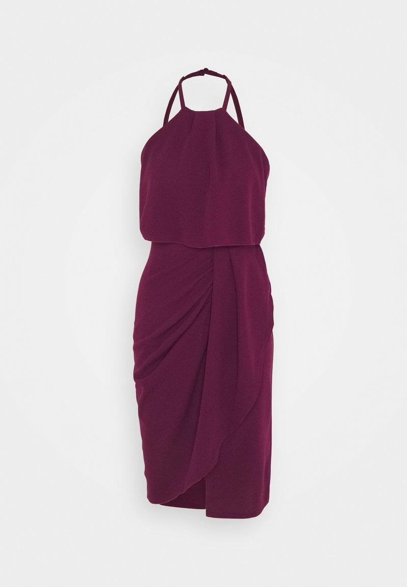 WAL G PETITE - Denní šaty - plum