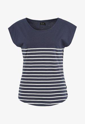 TALOK - Print T-shirt - dark blue